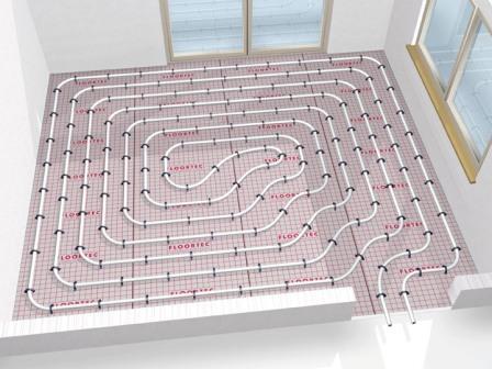 Vloerverwarming Badkamer Aanleggen : Vloerverwarming